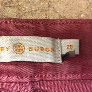 Tory Burch cropped jeans size 29. Like new